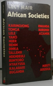 African Societies - African tribes