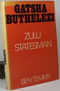 Gatsha Buthelezi - Zulu Statesman - African history