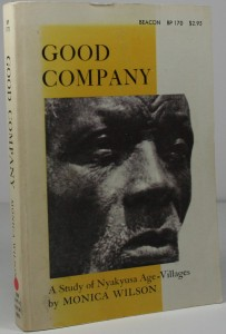 Good Company – A Study of Nyakyusa Age – Villages - African tribes