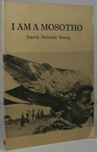 I am a Mosotho - African history
