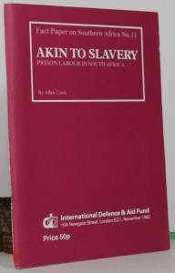 Akin to Slavery